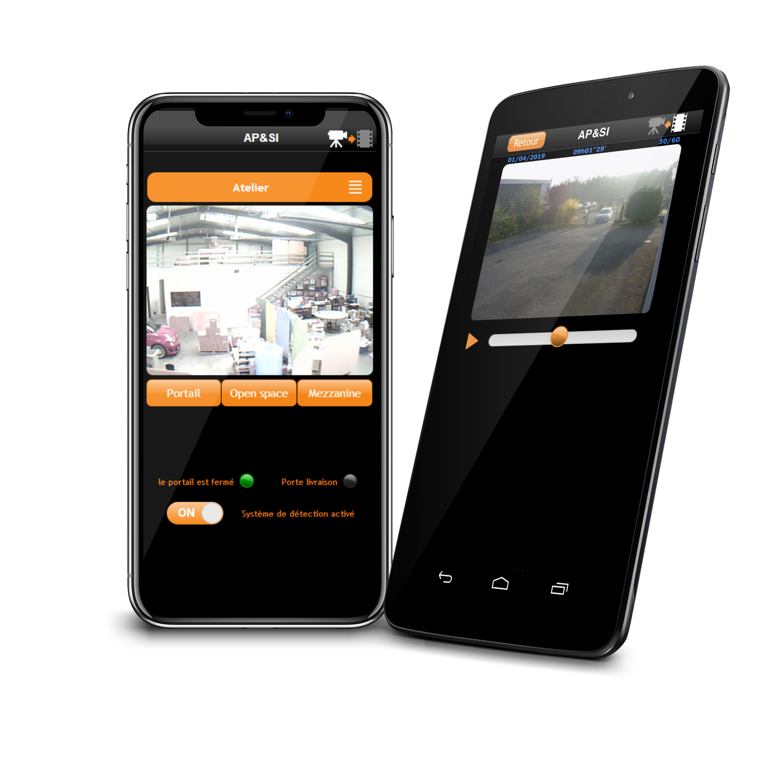 watch4safe application mobile